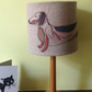 Sausage dog lampshade