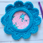 Photo frame crochet