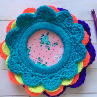 Crochet lovers craft room photo frames