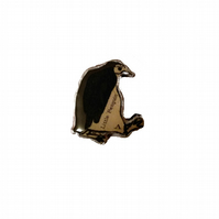 Little Whimsical Penguin Brooch by EllyMental
