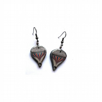 Victorian Hot Air Balloon Literary Earrings by EllyMental