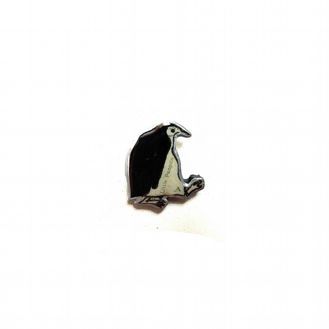 Little Penguin whimsical Brooch by EllyMental