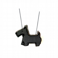 Whimsical Resin Scottie Dog Necklace by EllyMental