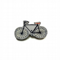 Wonderfully Whimsical  Bicycle Brooch by EllyMental