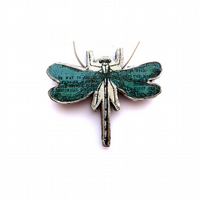 Whimsical romantic dragonfly Necklace by EllyMental