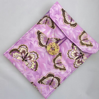 Kindle Case - Lilac Butterflies