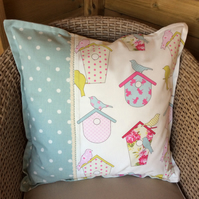 Cushion  Birdcage and spots