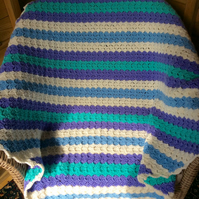 Crotchet corner to corner blanket