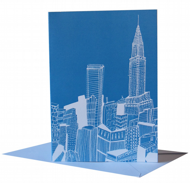 New York, A6 Card