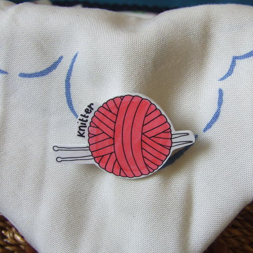 Knitting Badge