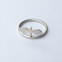 Silver seedling ring