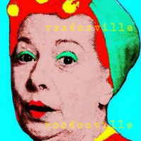 Hilda Ogden Coronation Street Corrie pop art print 10 x 8 inches