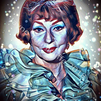 Endora 10 x 8 inches art print - Bewitched