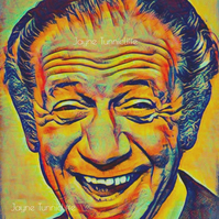 Sid James Carry On Laughing 11 x 8 inches art print