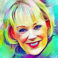 Sally Webster (Metcalfe) Coronation Street 11 x 8 inches art print