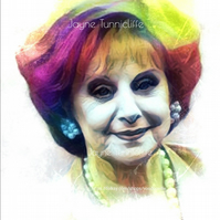 Rita Littlewood as was - Barbara Knox Coronation Street 11 x 8 inches art print