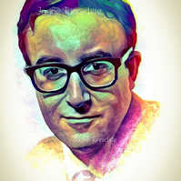 Peter Sellers 11 x 8 inches art print - A Shot In The Dark