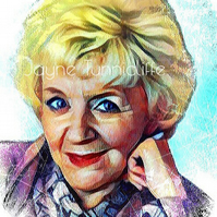 Ivy Tilsley Coronation Street 11 x 8 inches art print - Granny Ivy