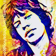 Mick Jagger 11 x 8 inches art print - Get Off My Cloud