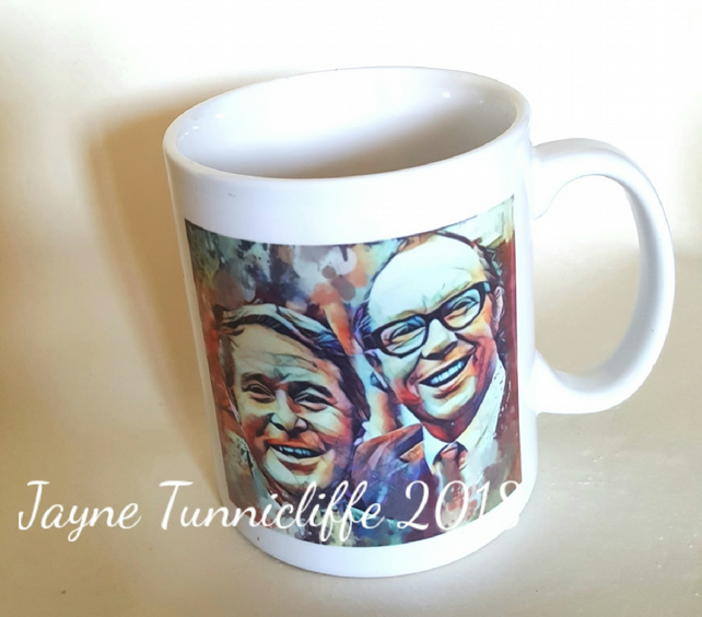 Morecambe and Wise mug
