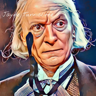 William Hartnell - 11 x 8 inches art print - The first Doctor Who