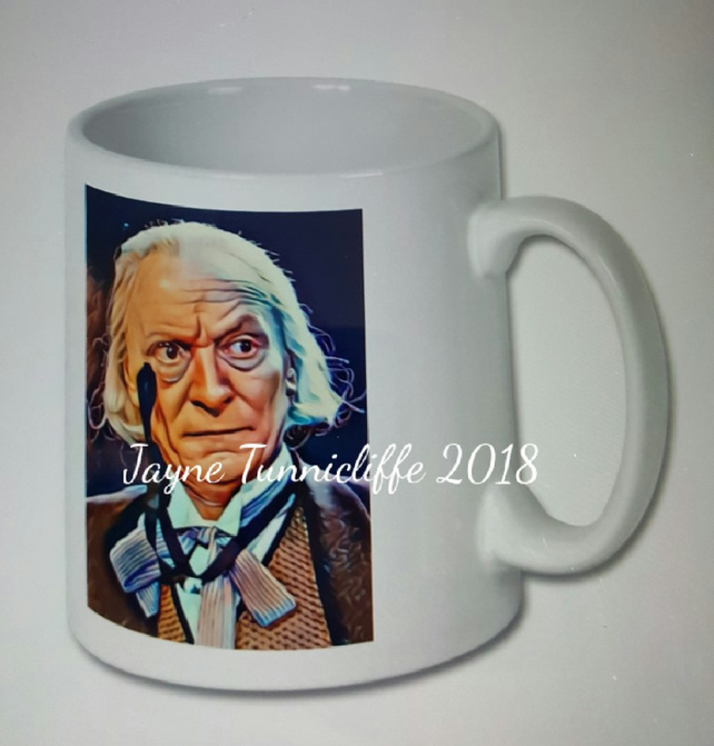William Hartnell mug - the first Doctor