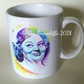 Hattie Jacques mug  - Carry On Matron