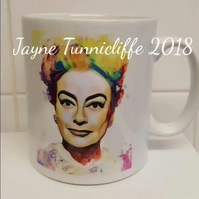 Joan Crawford mug