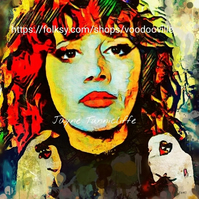 Natasha Lyonne 11 x 8 inches art print - Russian Doll