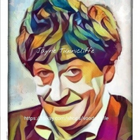 Patrick Troughton - 11 x 8 inches art print - The second Doctor Who