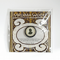 Virginia Woolf Brooch