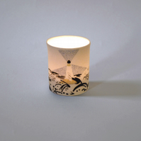 Virginia Woolf To The Lighthouse Bloomsbury Group Tea Light Candle