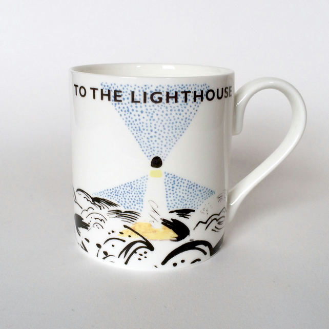 Virginia Woolf - To The Lighthouse - Bloomsbury Group Mug