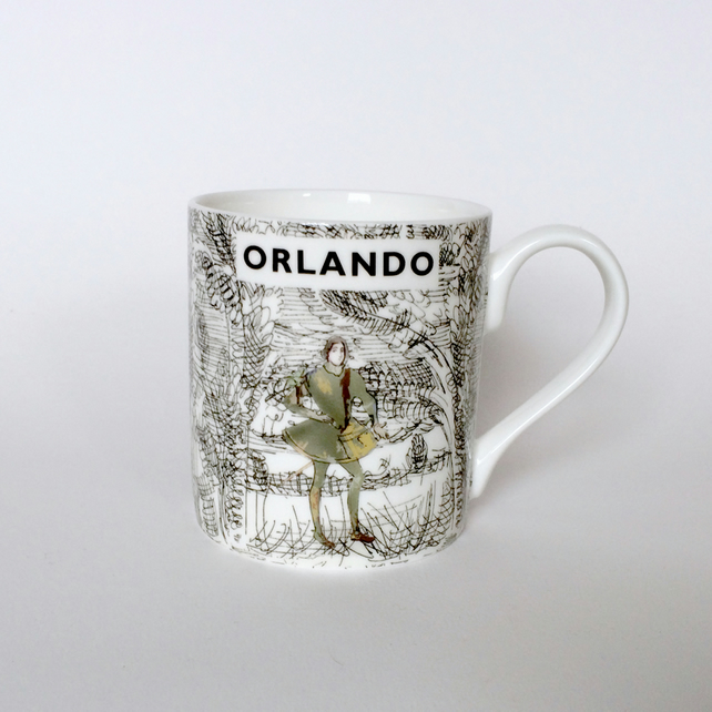Virginia Woolf - Orlando - Bloomsbury Group Mug