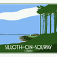 Retro Travel Poster - Silloth, Cumbria - Solway Coast A3 297mm x 420mm