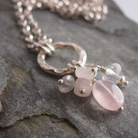 Rose Quartz Chakra Necklace