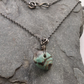 Turquoise and Silver Oxidised Necklace