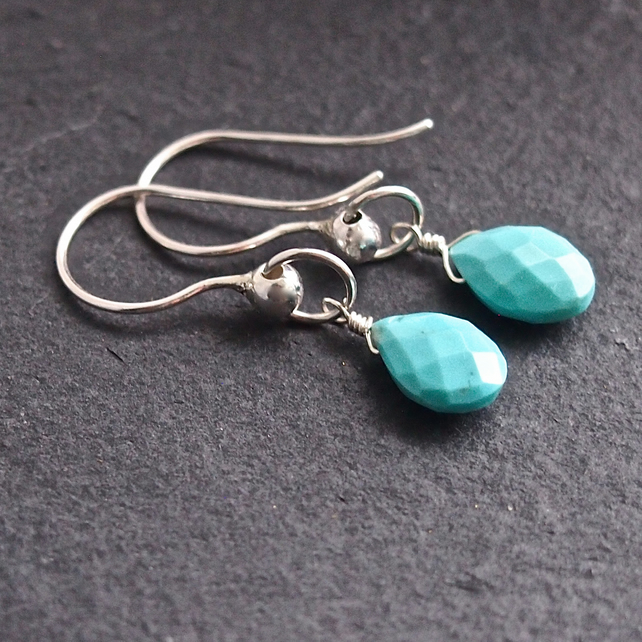 Arizona Turquoise Drop Earrings