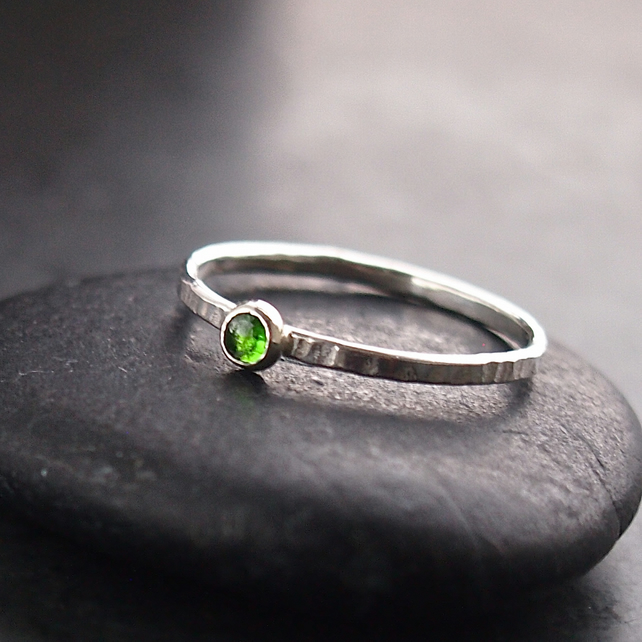 Mini Stack with Chrome Diopside