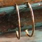 Two Skinny 9ct Gold Rings