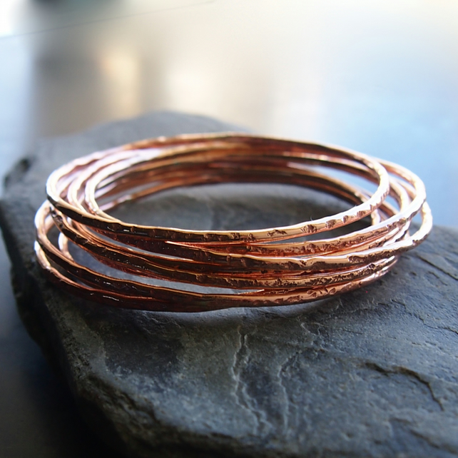 Bronze Granite Bangle