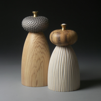 Beachcomber Salt and Pepper Mills READY TO POST