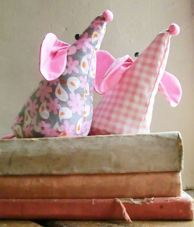 Mouse Doorstop Sewing Pattern Pdf For Mouse Folksy