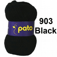 Pato dk  -  packs of  10 x 100g  -  black