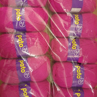 Pato dk  -  packs of  10 x 100g  -  bright pink