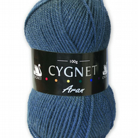 Cygnet aran yarn   - denim - 185
