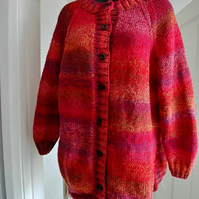 Ladies Chunky  Cardigan