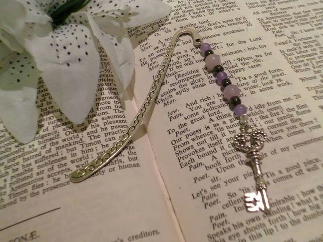 Steampunk Inspired Key Bookmark