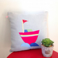 Boat Handmade Cushion