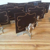 20 Unicorn place card holders party wedding favours